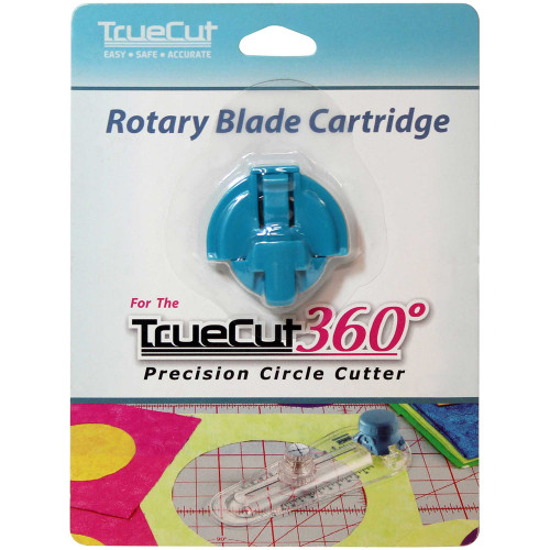 TRUECUT Replacement Blade for 360 Circle Cutter in packaging