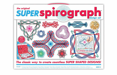 Original Super Spirograph design set box