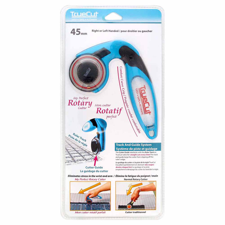 """TRUECUT My Perfect Rotary Cutter - 45mm (13⁄4"""") in packaging"""