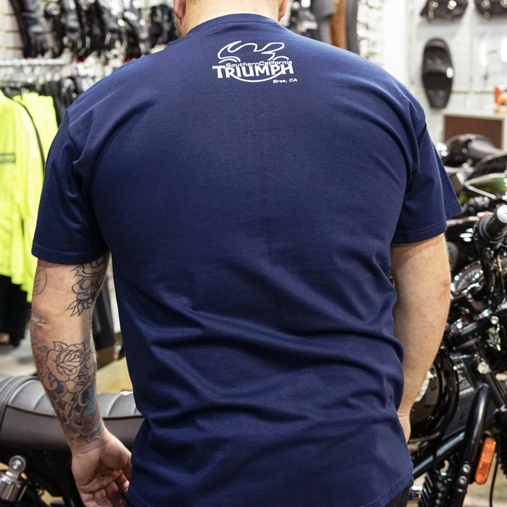 So Cal Triumph Dealership T-Shirt (Blue)