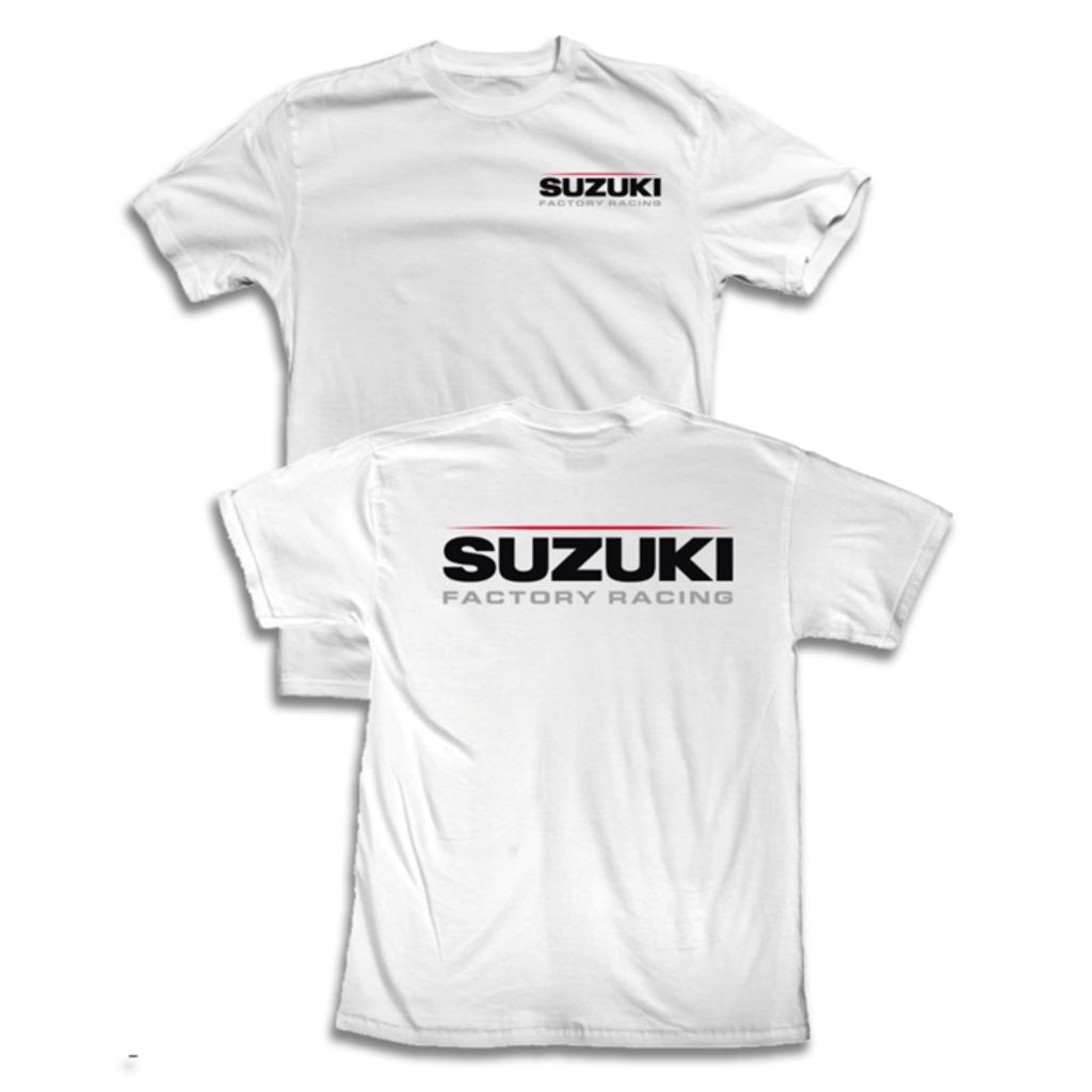 Suzuki Factory Racing T-Shirt (White)
