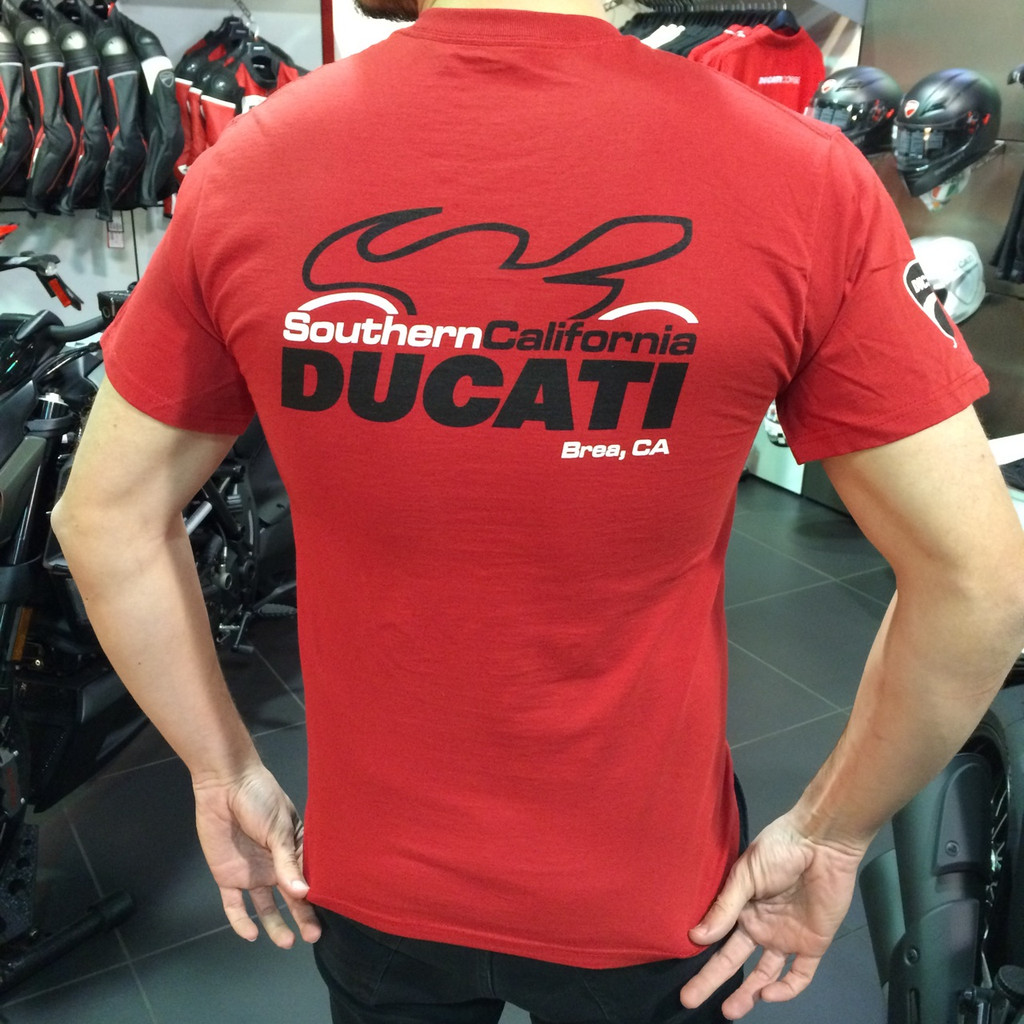 So Cal Ducati Dealership T-Shirt (Red)