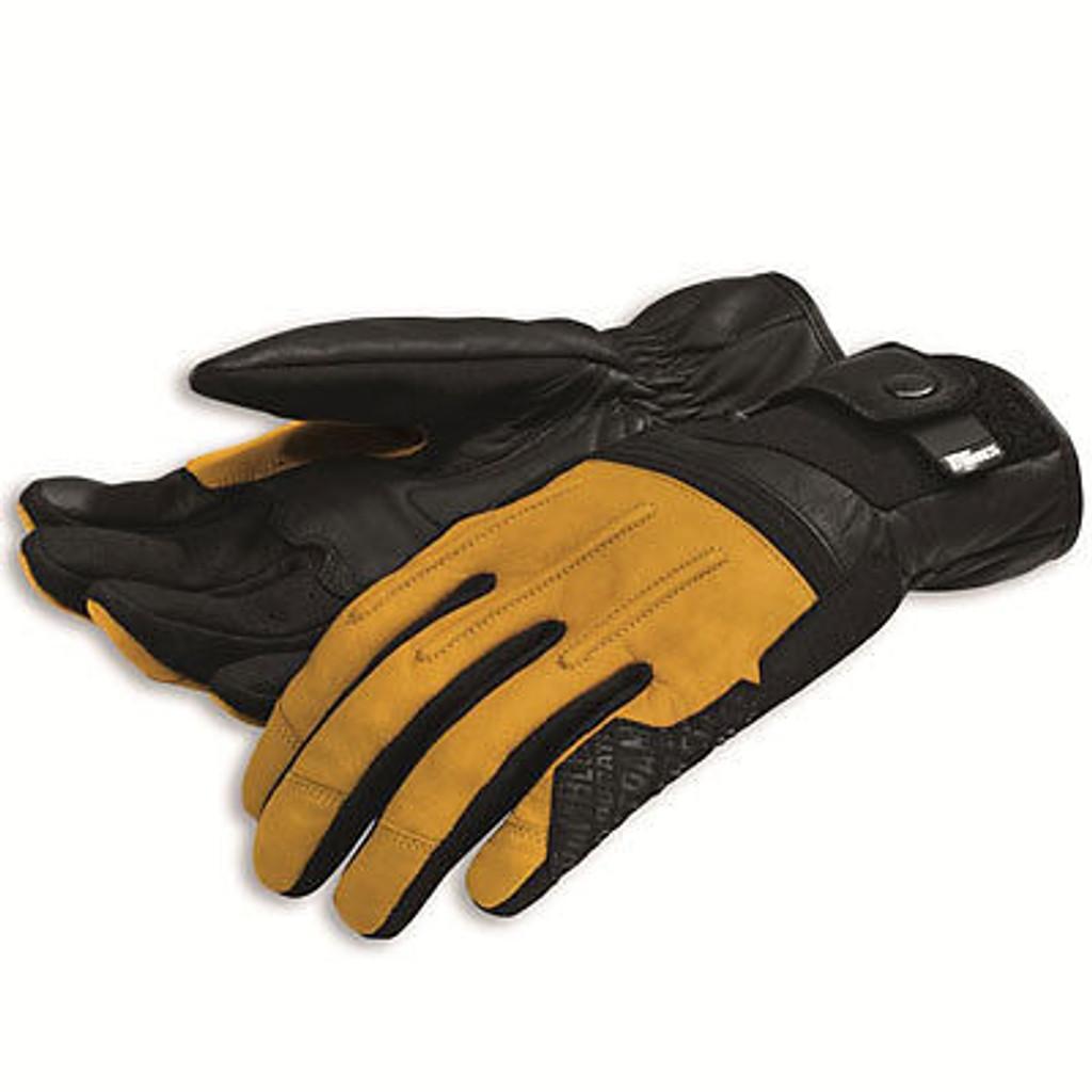 Ducati Scrambler Street Master C2 Gloves by Spidi (Tan) XXL
