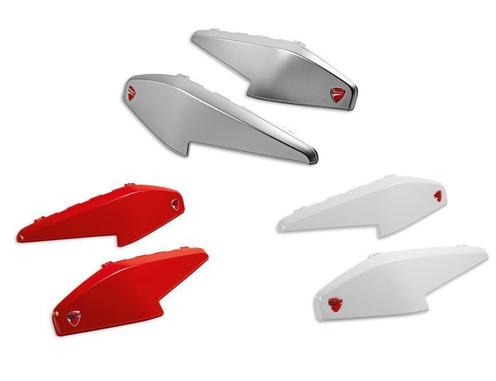 Ducati MTS Pannier Cover Set Red