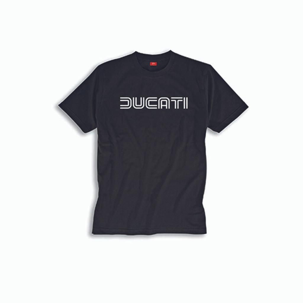 Ducati Ducatiana 80's T-Shirt (Black)