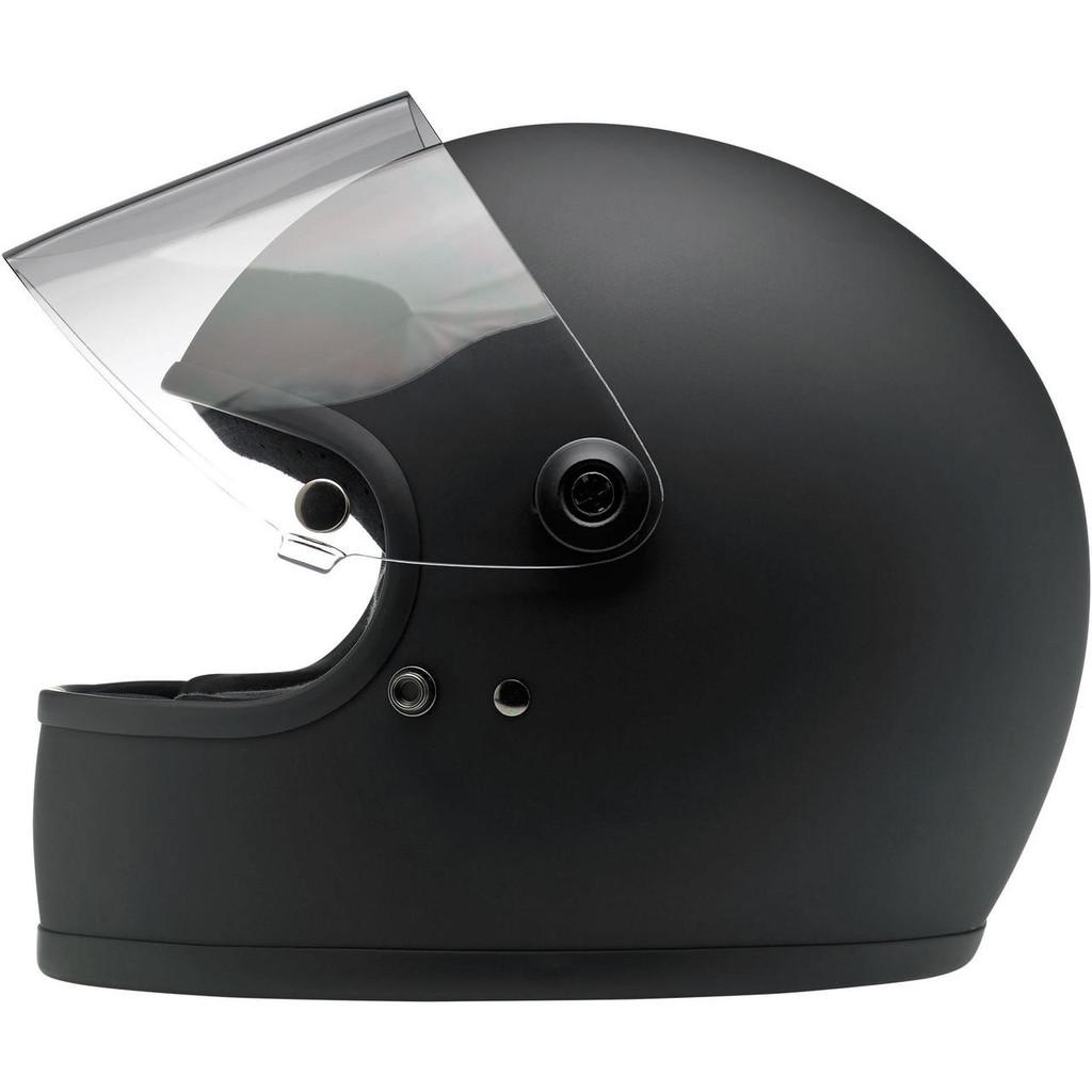 Biltwell Gringo S Helmet (Flat Black)