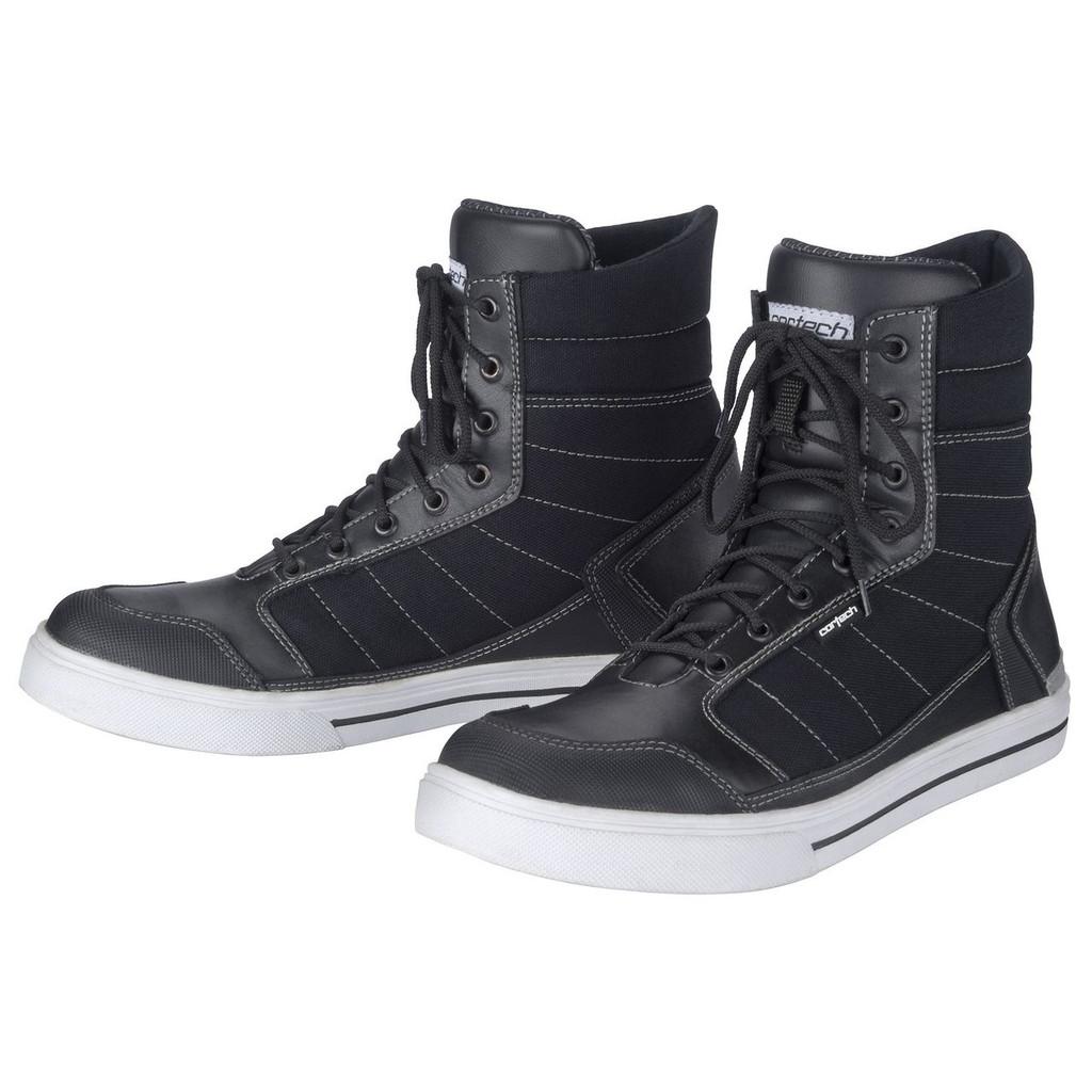 Cortech Vice WP Riding Shoe (Blk/Wht)