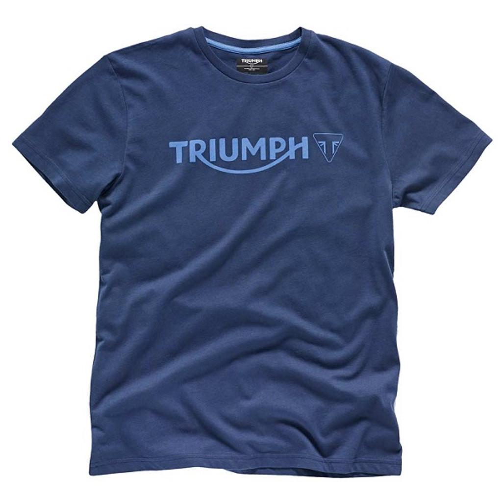 Triumph Modern Logo T-Shirt (Navy Blue)