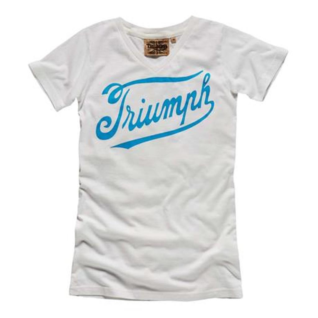 Triumph Vintage Script Women's T-Shirt