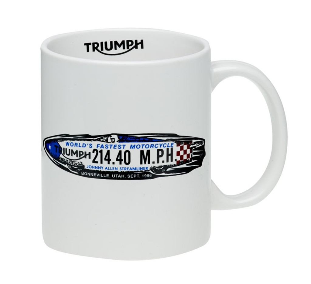 Triumph Speed Record Mug