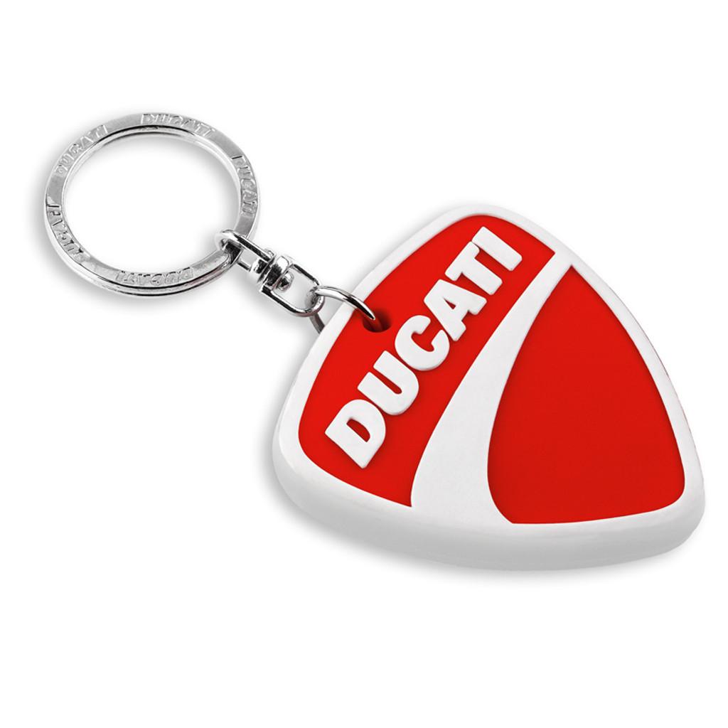 Ducati Company Logo Rubber Keychain