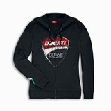Ducati Corse Sketch Women's Hooded Sweatshirt