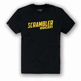 Ducati Scrambler Milestone T-Shirt (Black)