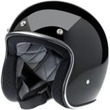 Biltwell Bonanza Helmet (Gloss Black)