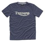 Triumph Vintage Logo T-Shirt (Blue)