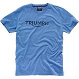 Triumph Modern Logo T-Shirt (Light Blue)