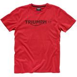 Triumph Modern Logo T-Shirt (Red)