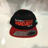 So Cal Ducati Flatbill Snapback Hat