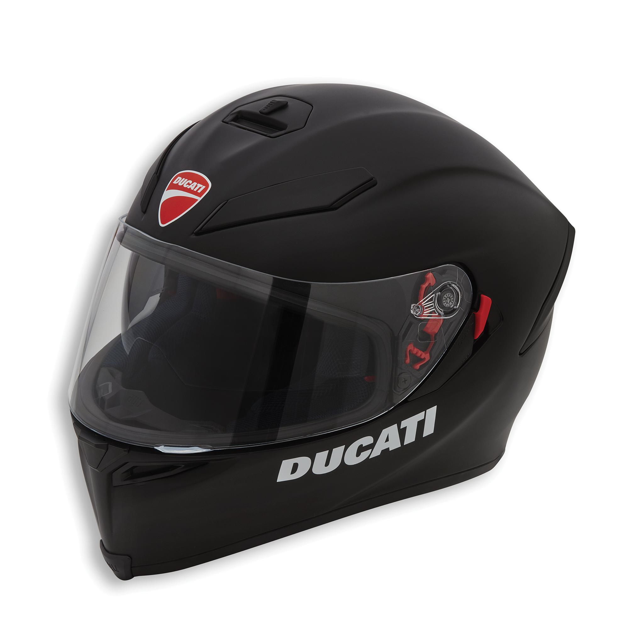 Ducati Dark Rider V2 Motorcycle Helmet Matte Flat Black Agv K 5 K5 98103682