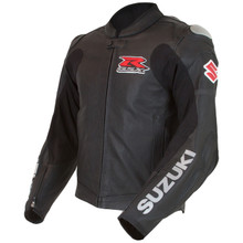Suzuki GSX-R Perforated Leather Jacket (Black)