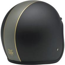 Biltwell Bonanza Helmet (Racer Flat Black/Gold)