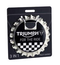 Triumph Bottle Opener