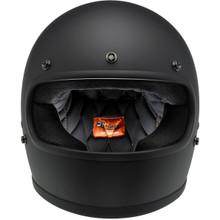 Biltwell Gringo Helmet (Flat Black)