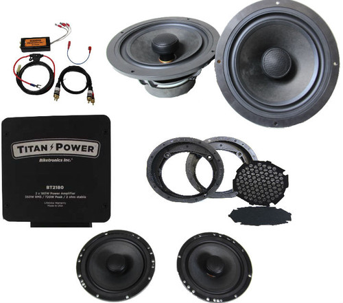 1996-2013 Amp and Speaker Package