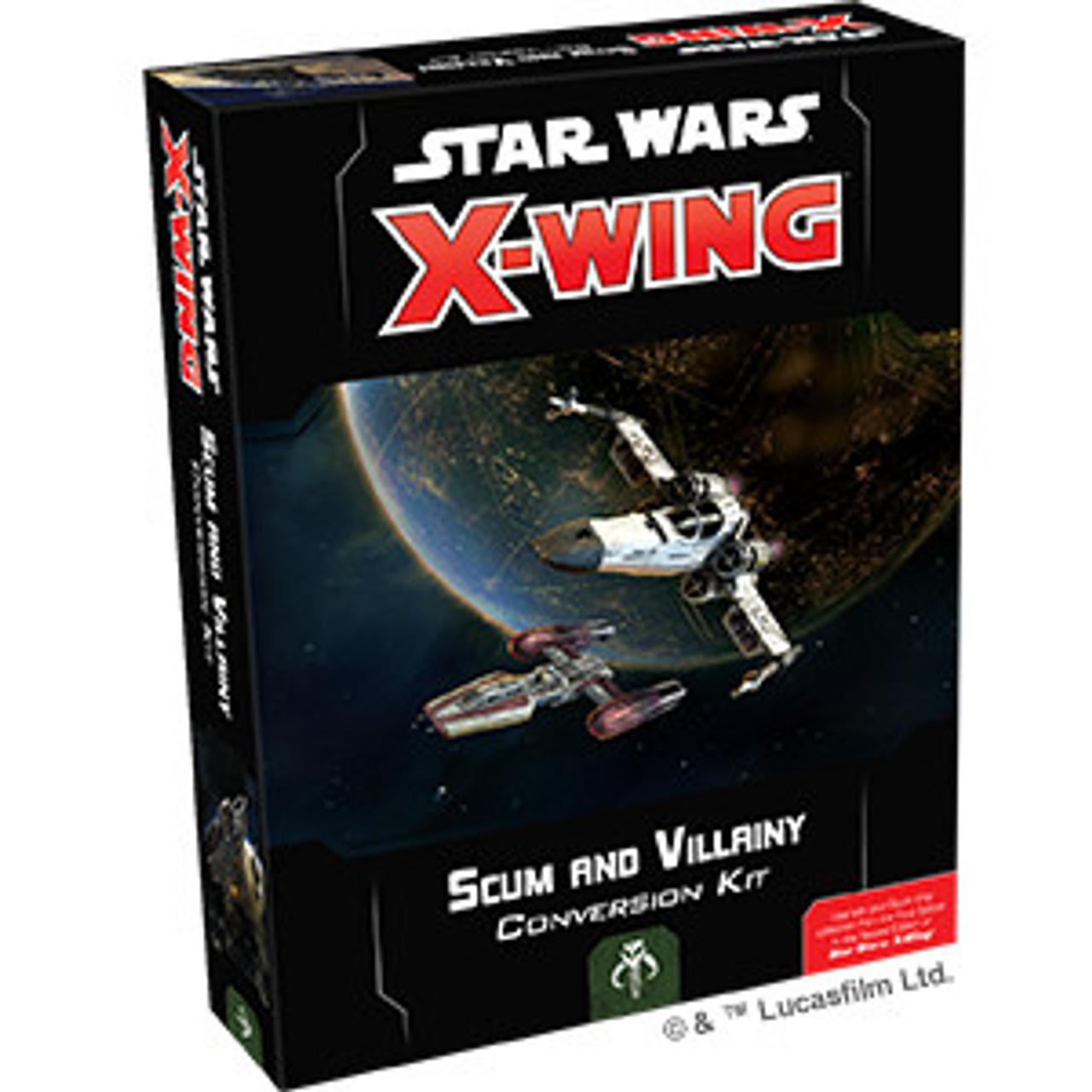 Star Wars X wing 2nd Ed Rebel Alliance Conversion Kit