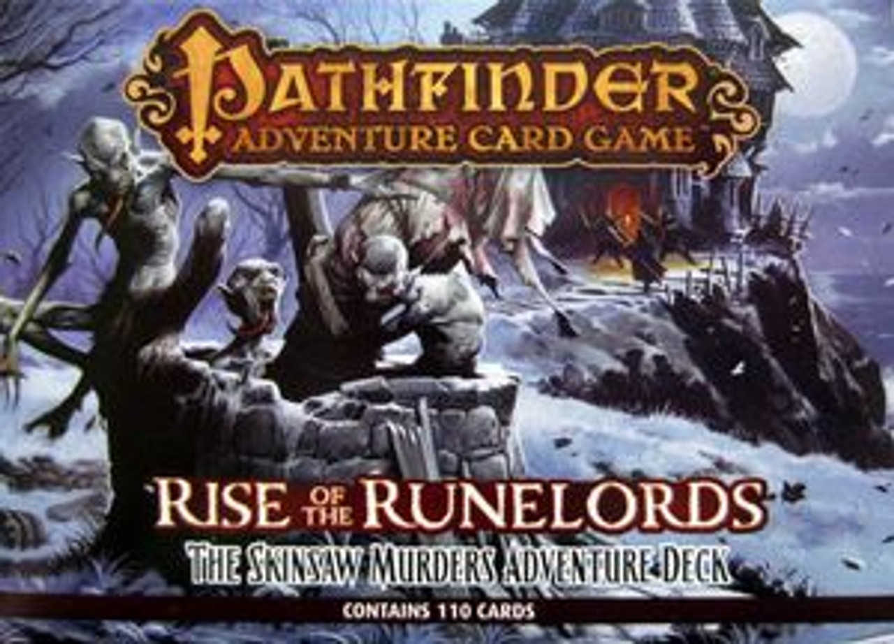 Pathfinder Adventure Card Game: Rise of the Runelords - Adventure Deck 2:  The Skinsaw Murders