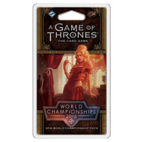 A Game of Thrones - The Card Game (Second Edition) - 2016 World Championship Joust Deck