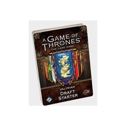 A Game of Thrones LCG: 2nd Edition - Valyrian Draft Starter