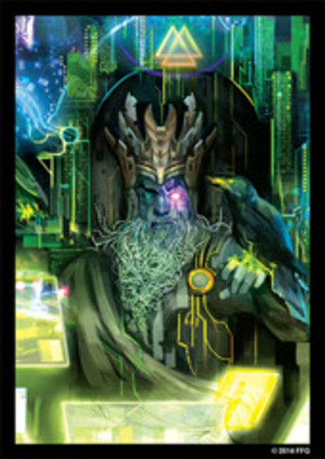 Fantasy Flight Art Sleeves: Android Netrunner: Wotan