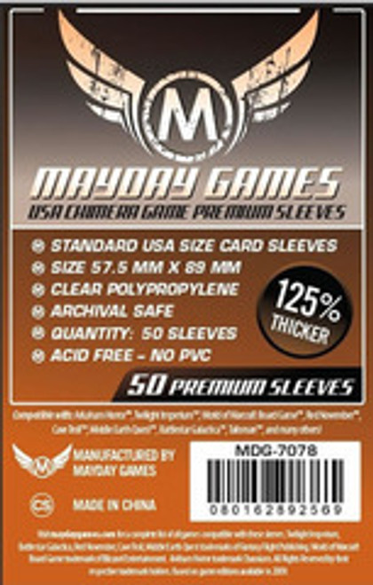 Mayday USA Chimera Deluxe Card Sleeves #7078