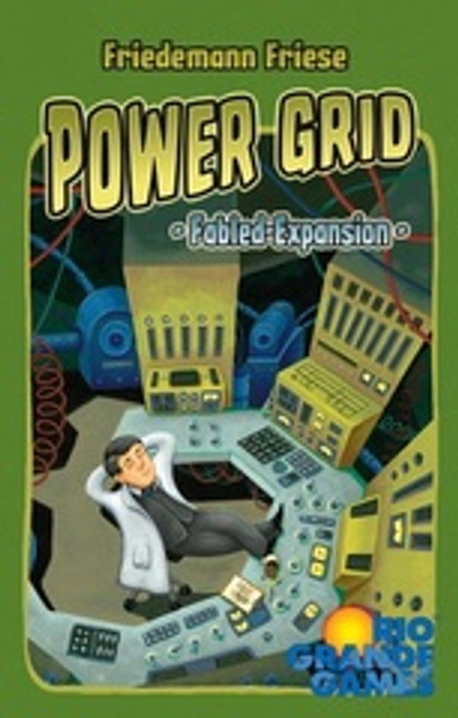 Power Grid: Fabled Cards