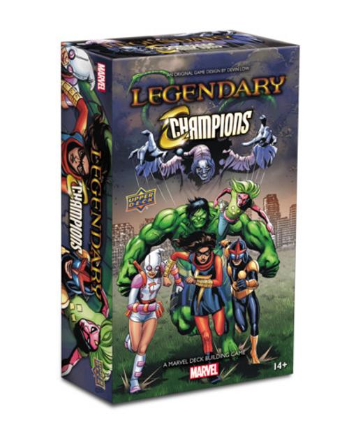 Legendary Marvel Deckbuilding Game: Champions Expansion