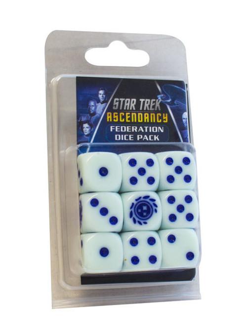 Star Trek: Ascendancy - D6 Dice Set - Federation