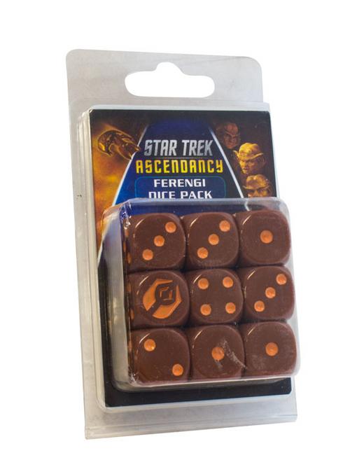 Star Trek: Ascendancy - D6 Dice Set - Ferengi