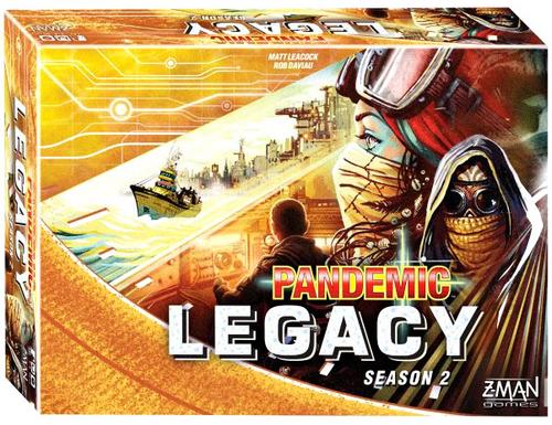 Pandemic Legacy: Season 2 ( Yellow )