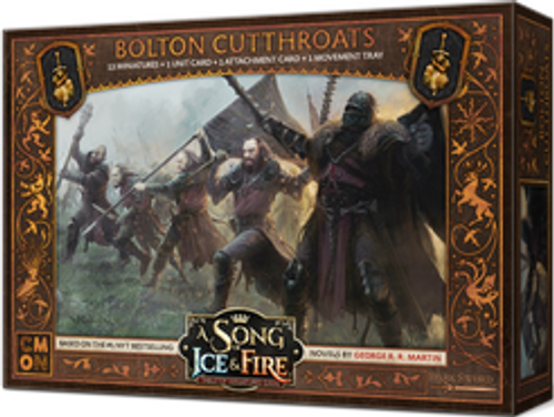 A Song of Ice & Fire: Tabletop Miniatures Game - Bolton Cutthroats