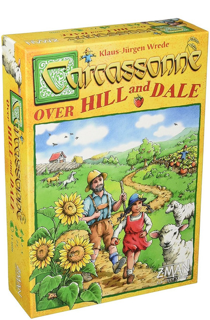 Carcassonne: Over Hill and Dale
