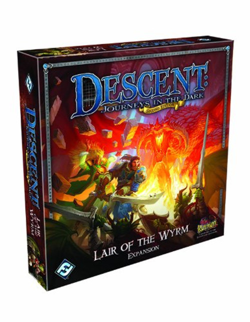 Descent: Lair of the Wyrm Expansion (Second Edition)