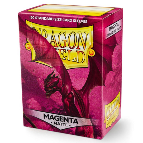 Dragon Shield Box of 100 in Matte Magenta