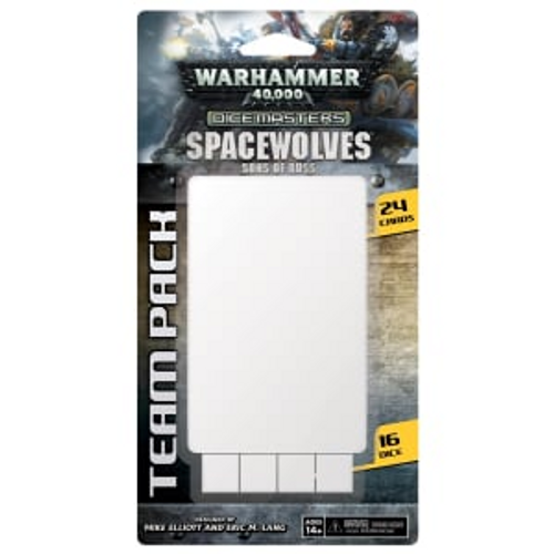 Warhammer 40,000 Dice Masters: Space Wolves Sons of Russ Team Pack