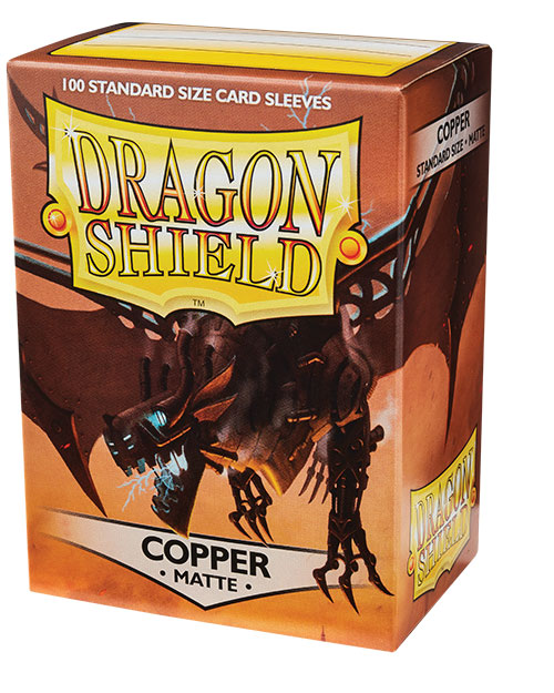 Dragon Shield Box of 100 in Matte Copper