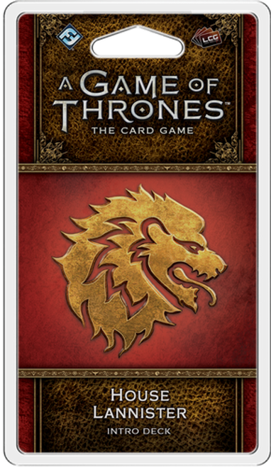 A Game of Thrones LCG: 2nd Edition - House Lannister Intro Deck