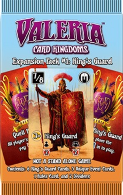 Valeria: Card Kingdoms - Expansion Pack #1: King's Guard