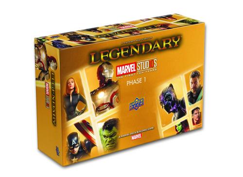 Legendary Marvel Studios 10th Anniversary Deck Building Game