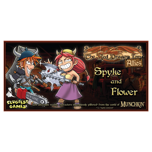 The Red Dragon Inn: Allies - Spyke and Flower