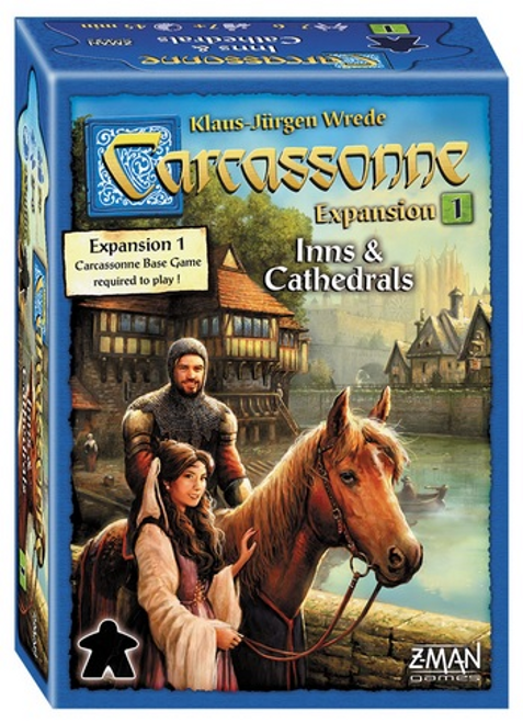 Carcassonne: Expansion 1 Inns & Cathedrals